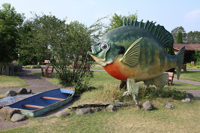 Short story about a big fish in Idaho